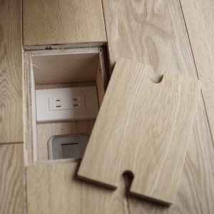 Outlet Recessed In Floor